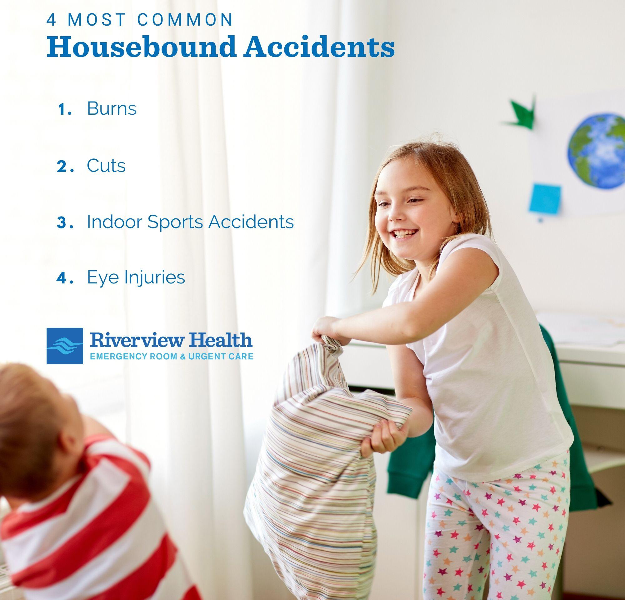 Common household accidents